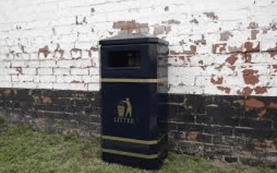 New Eclipse Standard Litter Bin