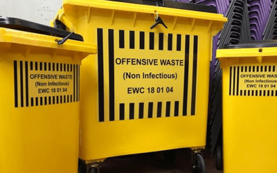 Plastic & Steel Wheeled Bins
