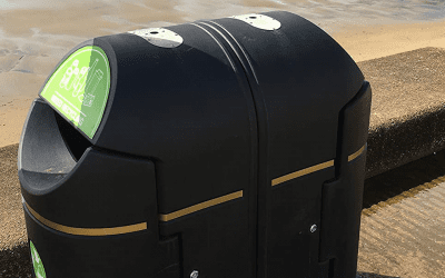 Coniston Recycling Bins – Isle of Wight
